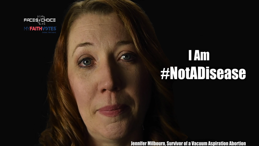 """Founder of """"Faces of Choice"""" Launches New #NotADisease Campaign"""